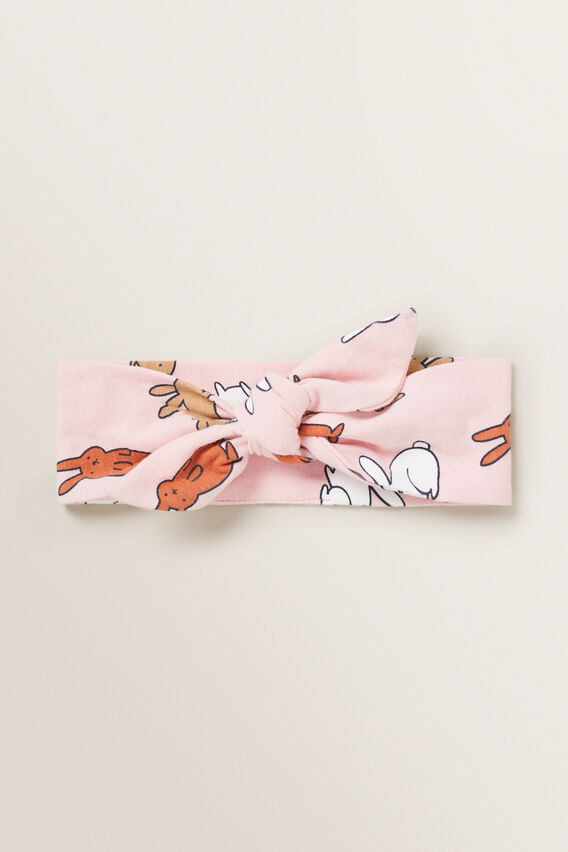 Pink Bunny Headband  MULTI  hi-res