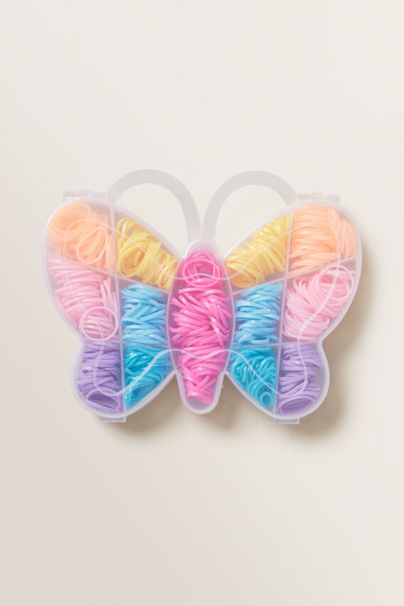 Butterfly Mini Elastics  MULTI  hi-res