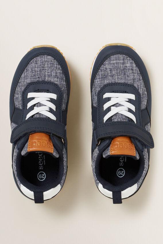 Textured Sneaker  NAVY  hi-res