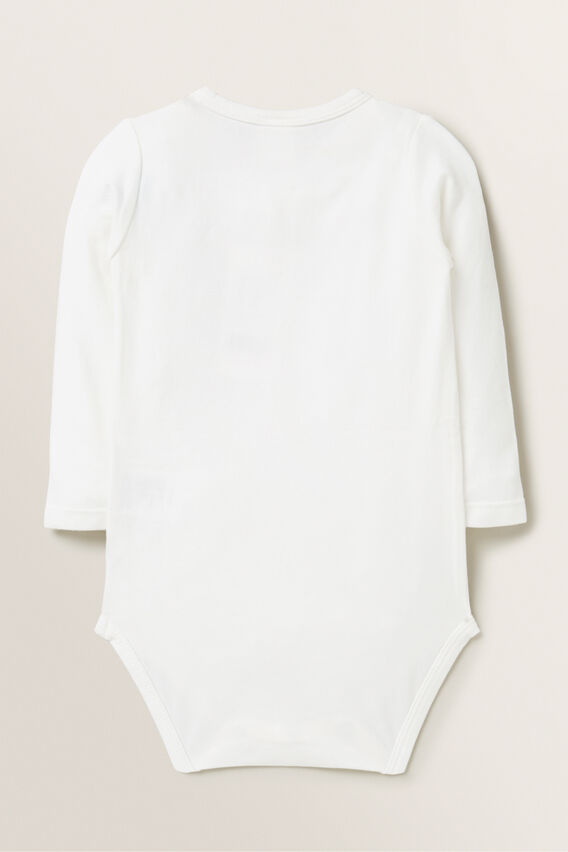 Chenille Bunny Bodysuit  CANVAS  hi-res
