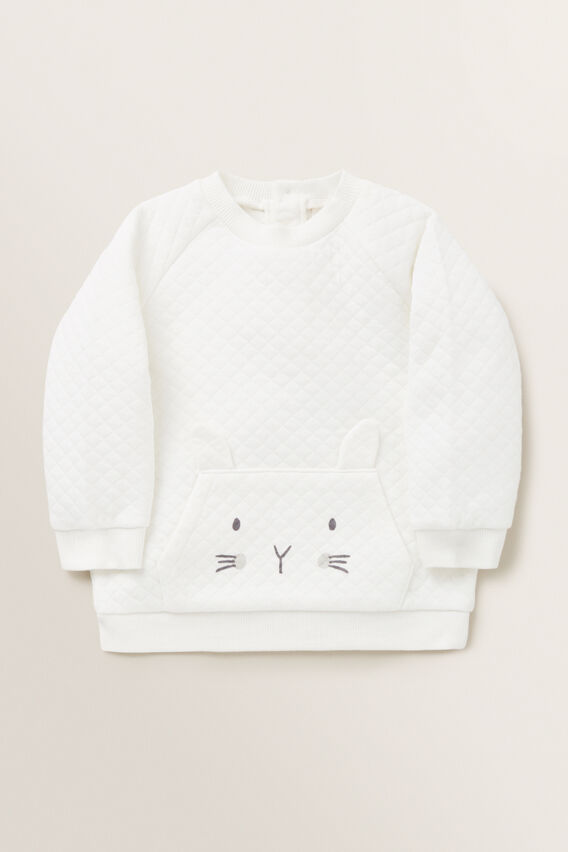 Bunny Quilted Windcheater  CANVAS  hi-res
