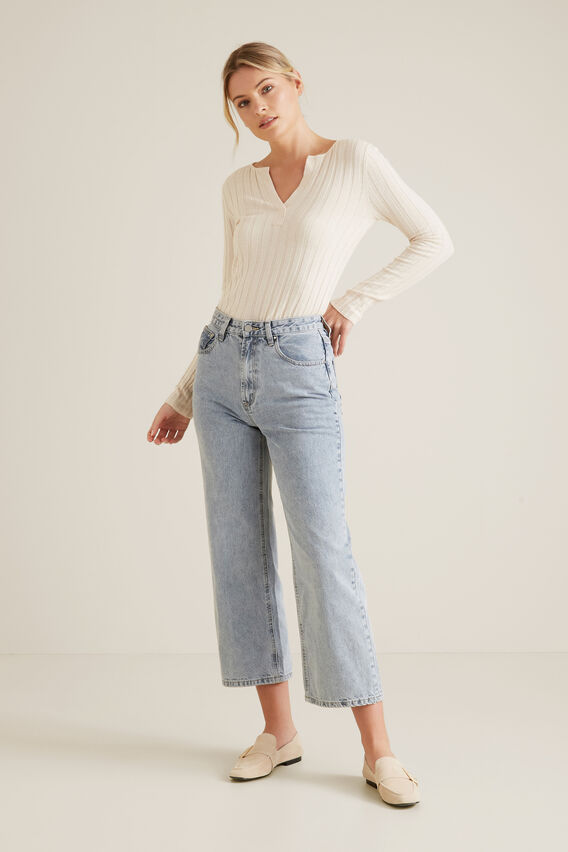 Layering Sweater  FRENCH CREAM  hi-res