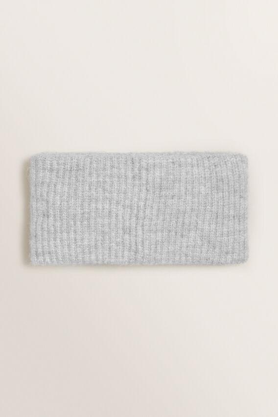 Rib Knit Turban  GREY MARLE  hi-res