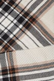 Pleated Check Scarf  WARM STONE  hi-res
