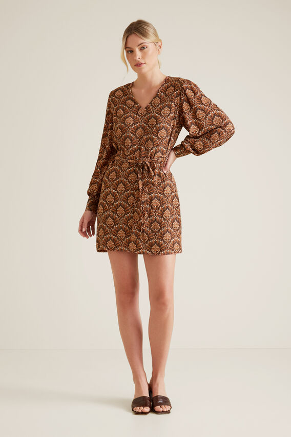 Paisley Mini Dress  PAISLEY  hi-res