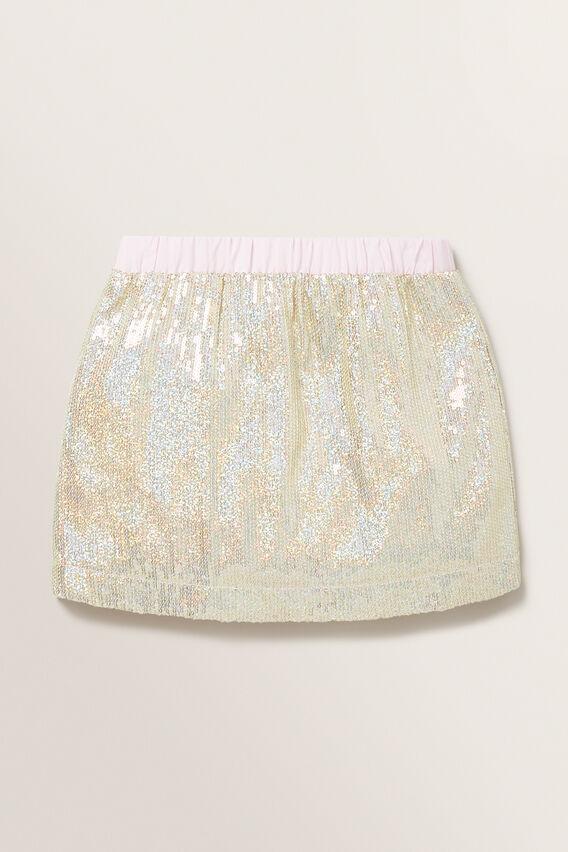 Sequin Skirt  GOLD  hi-res