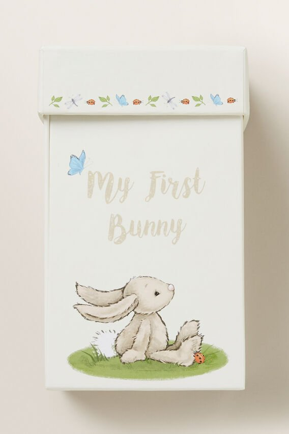 My First Bunny Box  BEIGE  hi-res