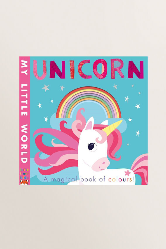 My Little World Unicorn Book  MULTI  hi-res