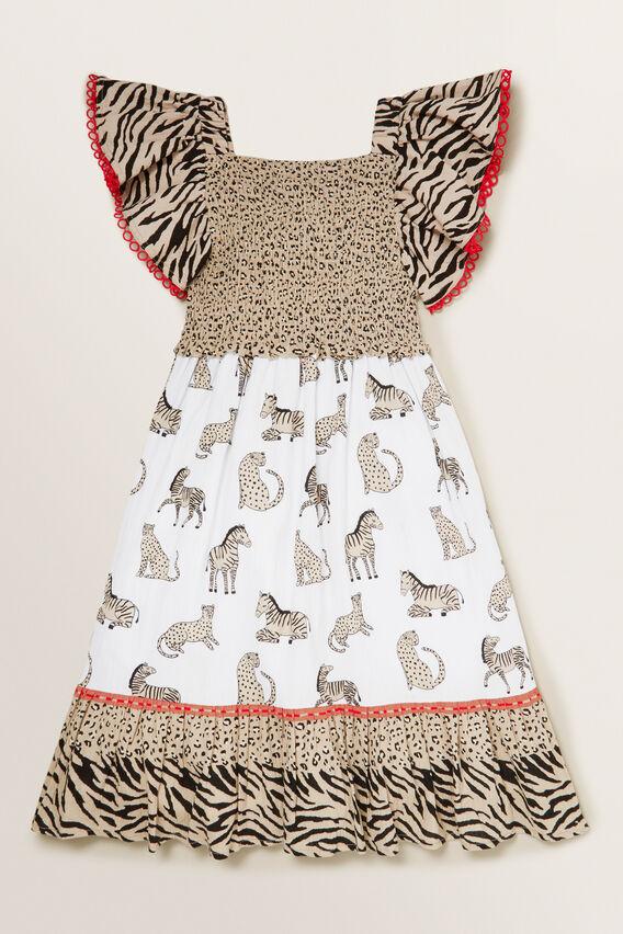 Spliced Animal Dress  MULTI  hi-res