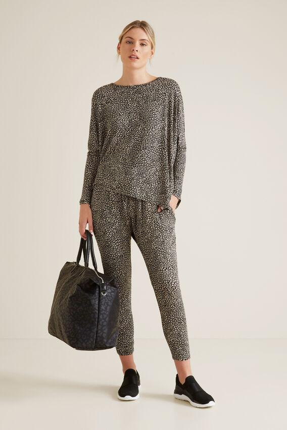 Ocelot Asymmetric Sweater  MINI OCELOT  hi-res