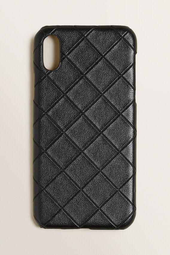 iPhone Case X/XS  BLACK TEXTURED  hi-res