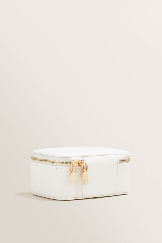 Small Jewellery Case  WHITE  hi-res