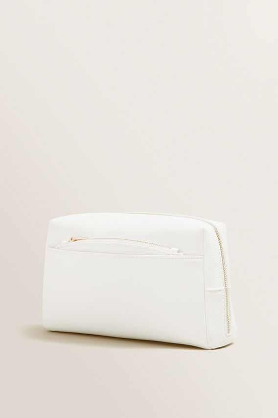 Travel Case With Pouch  WHITE  hi-res