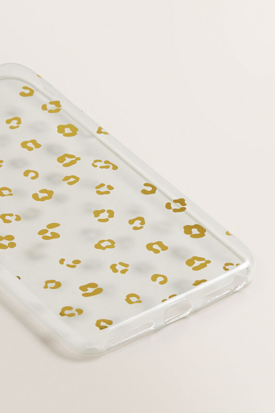 Printed Phone Case 7/8 Plus  METALLIC OCELOT  hi-res
