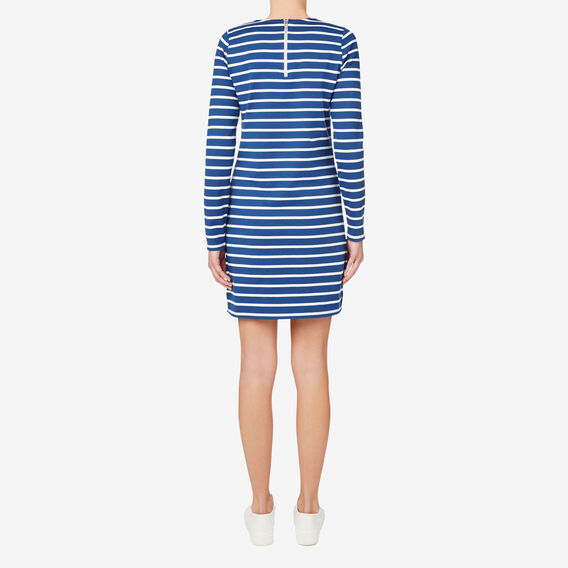 Stripe Dress  SILVER LAKE BLUE  hi-res