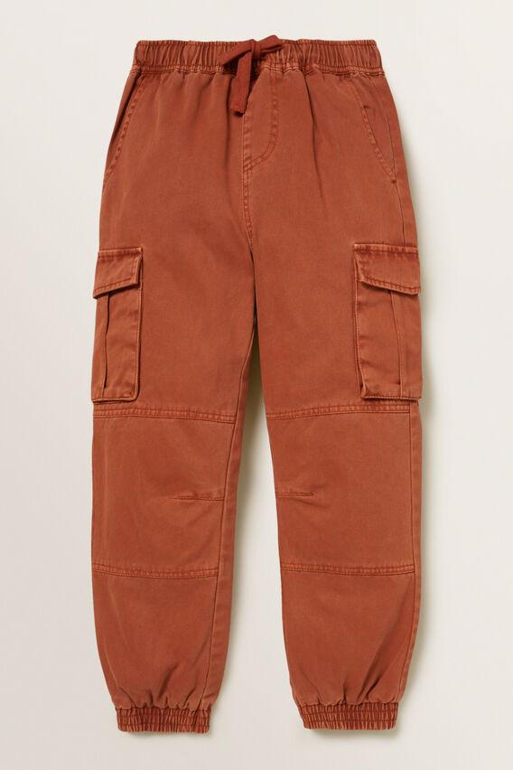 Cargo Pant  BRICK BROWN  hi-res