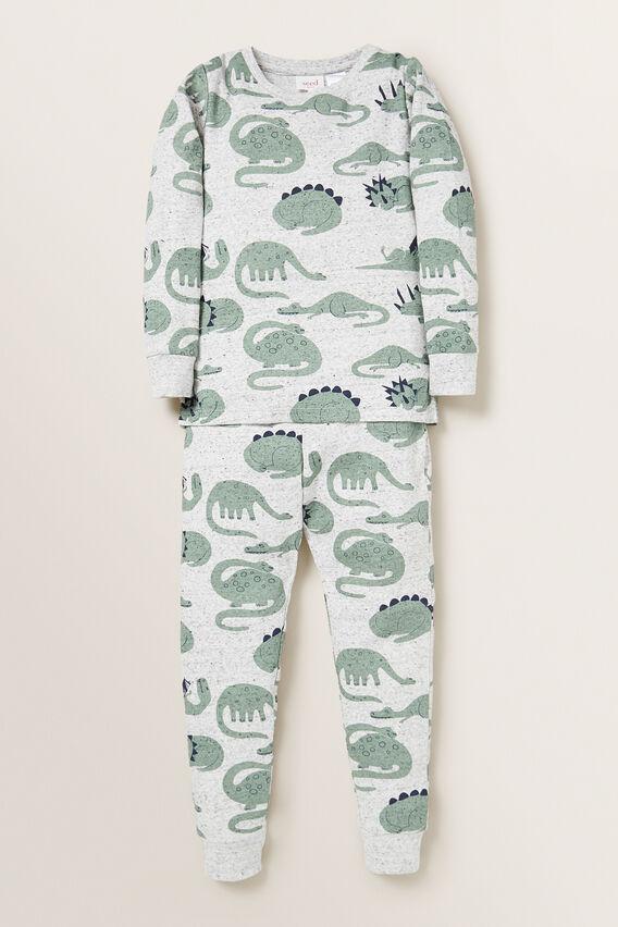 Dino Pyjama  CLOUDY MARLE  hi-res