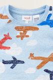 Plane Pyjama  SLEEPY BLUE MARLE  hi-res