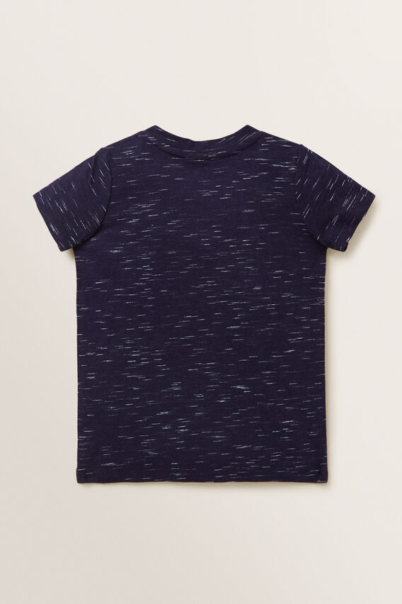 Chenille Dog Tee  MIDNIGHT SPACE DYE  hi-res