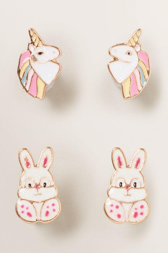 Clip On Earrings  MULTI  hi-res