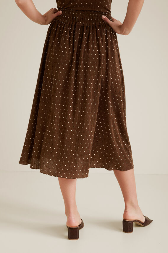 Micro Pleat Spot Skirt  SPOT  hi-res