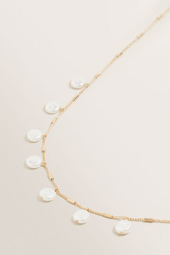 Multi Pearl Necklace  GOLD PEARL  hi-res