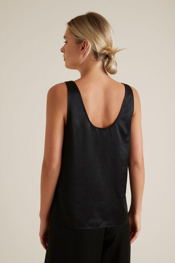Fluid Camisole  BLACK  hi-res