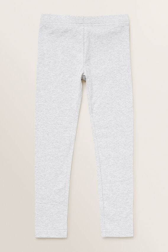 Basic Legging  LIGHT GREY MARLE  hi-res