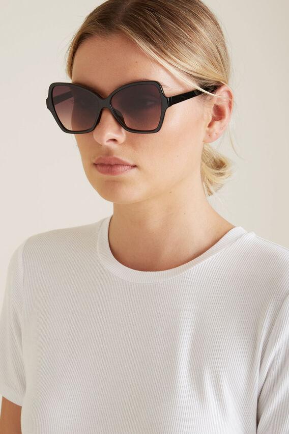 Poppy Butterfly Sunglasses  BLACK  hi-res