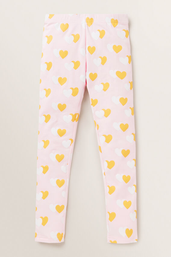 Heart Leggings  ICE PINK  hi-res