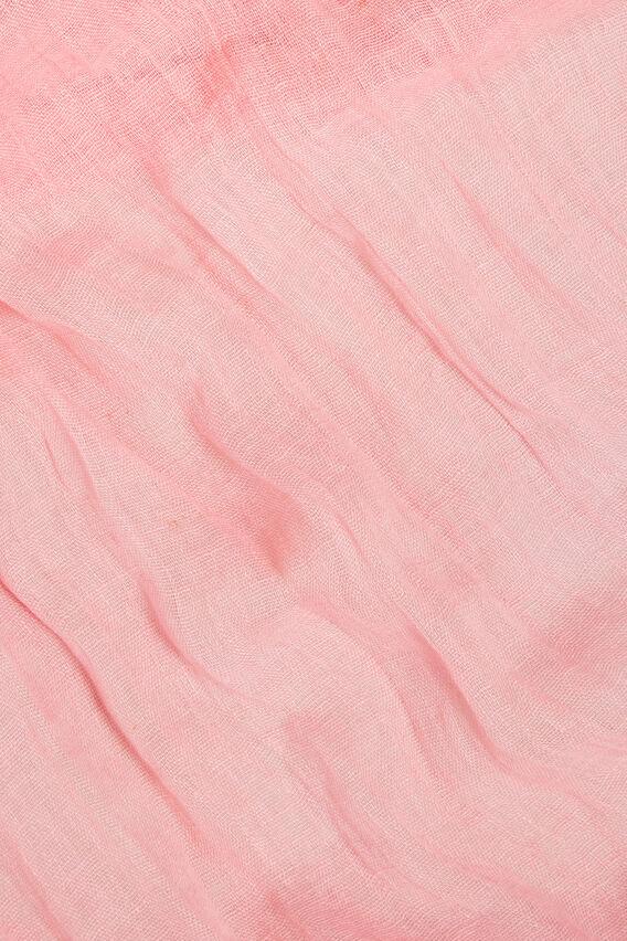Linen Scarf  WATERMELON PINK  hi-res