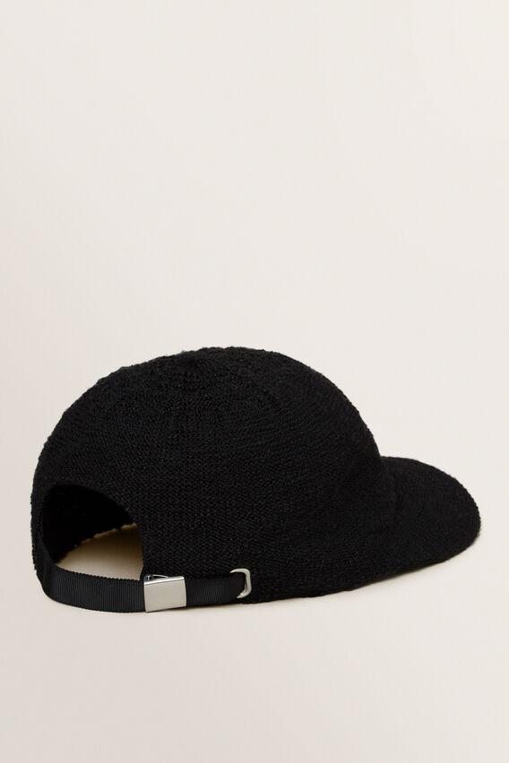 Monochrome Cap  BLACK  hi-res