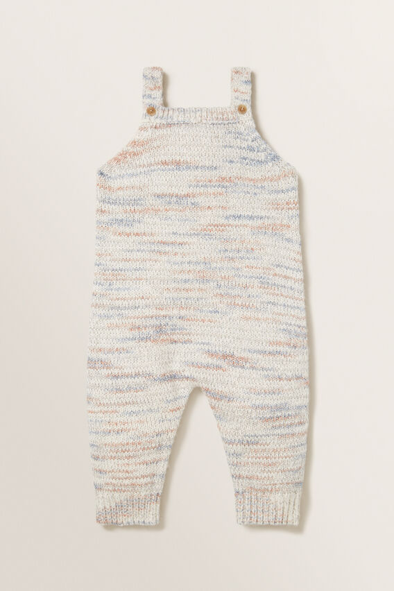 Space Dye Knitted Overall  MULTI  hi-res