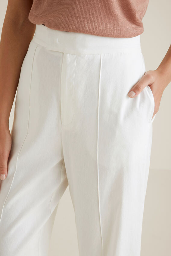 Casual Straight Leg Pant  CLOUD CREAM  hi-res