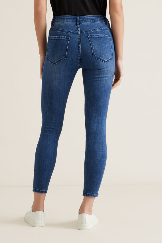 Core Skinny Jean  MID DENIM WASH  hi-res