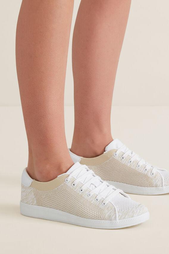 Sarah Knit Sneaker  BEIGE  hi-res