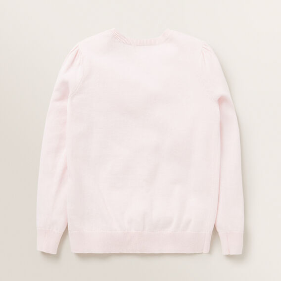Puff Sleeve Cardigan  ICE PINK  hi-res