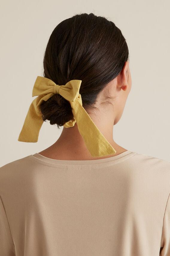 Hair Bow  DUSTY MARIGOLD  hi-res