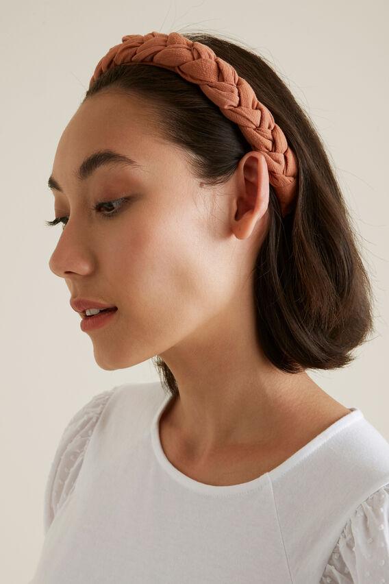 Plaited Headband  NEUTRAL  hi-res
