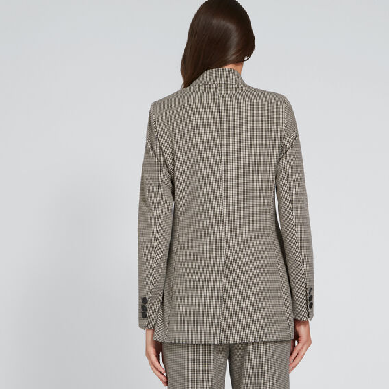 Double Breasted Blazer  HOUNDSTOOTH  hi-res