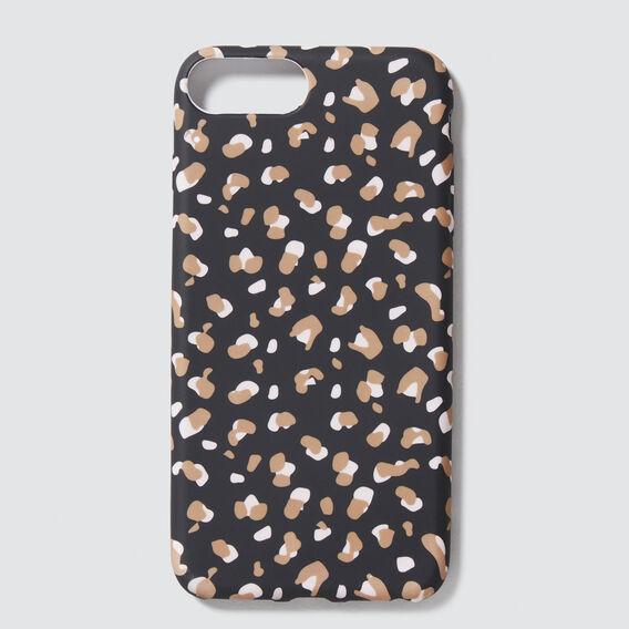 Animal Print Phone Case 6+/7+/8+  BLACK ANIMAL  hi-res