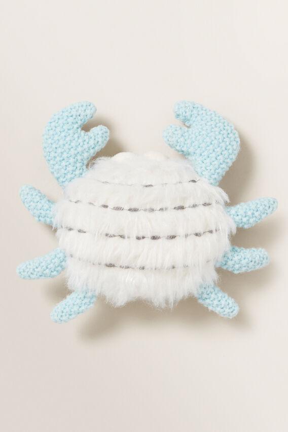 Crab Rattle  DARK BLUE  hi-res
