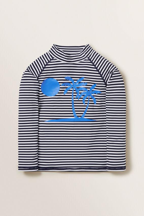 Long Sleeve Rashsuit  MIDNIGHT BLUE  hi-res