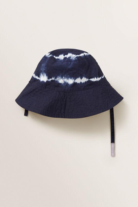 Tie Dye Sun Hat  MIDNIGHT BLUE  hi-res