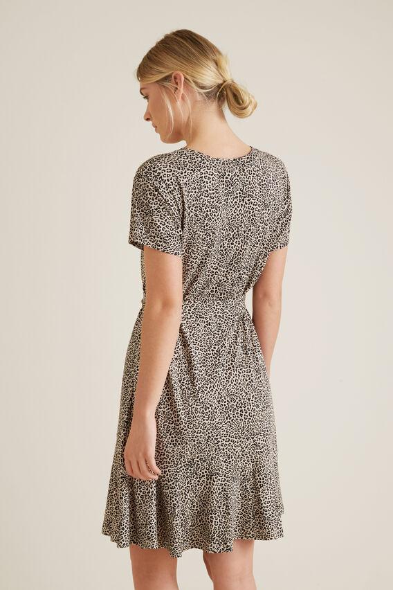 Mini Ocelot Print Dress  ANIMAL PRINT  hi-res