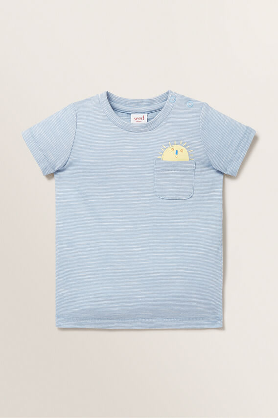 Sun Pocket Tee  CLOUD BLUE  hi-res