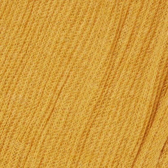 Open Weave Scarf  GOLDEN MUSTARD  hi-res
