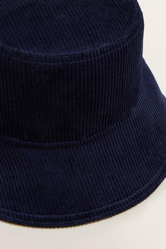 Cord Bucket Hat  BLUE IRIS  hi-res