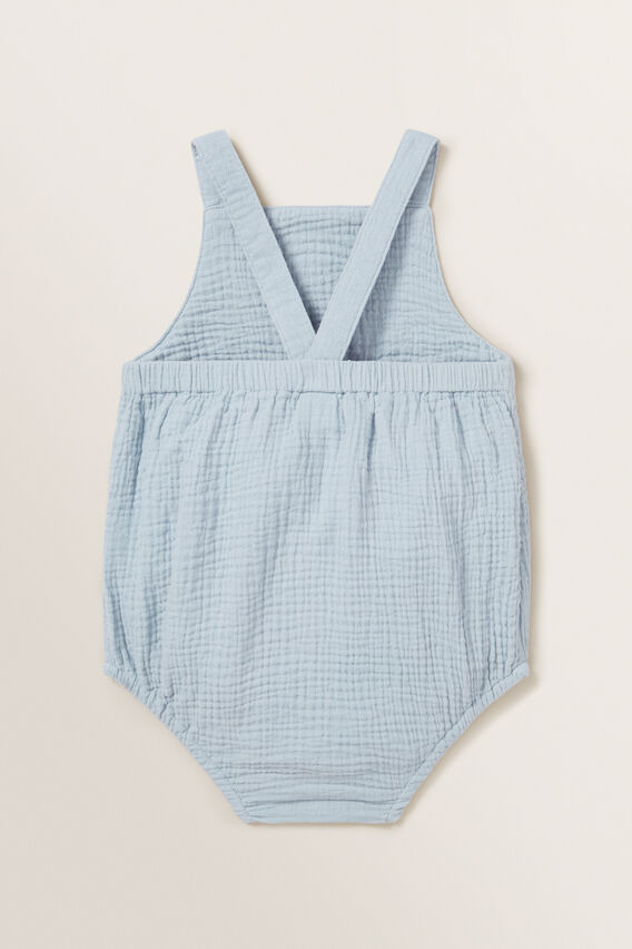 Cheesecloth Romper  RAIN  hi-res