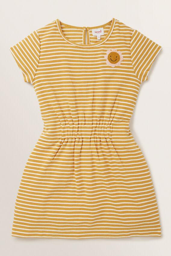 Daisy Patch Dress  OCHRE  hi-res